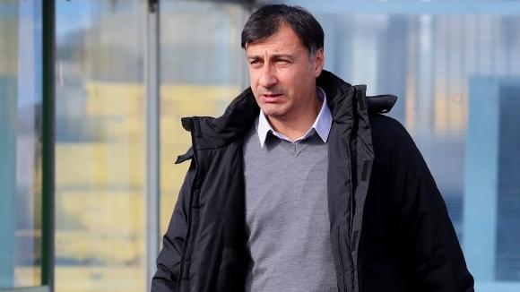 Старши треньорът на Септември Христо Арангелов гостува в