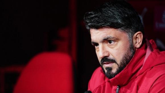 Наставникът на Милан Дженаро Гатузо още чувства огромно разочарование след