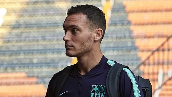 Белгийският защитник на Барселона Томас Вермален е получил мускулна травма