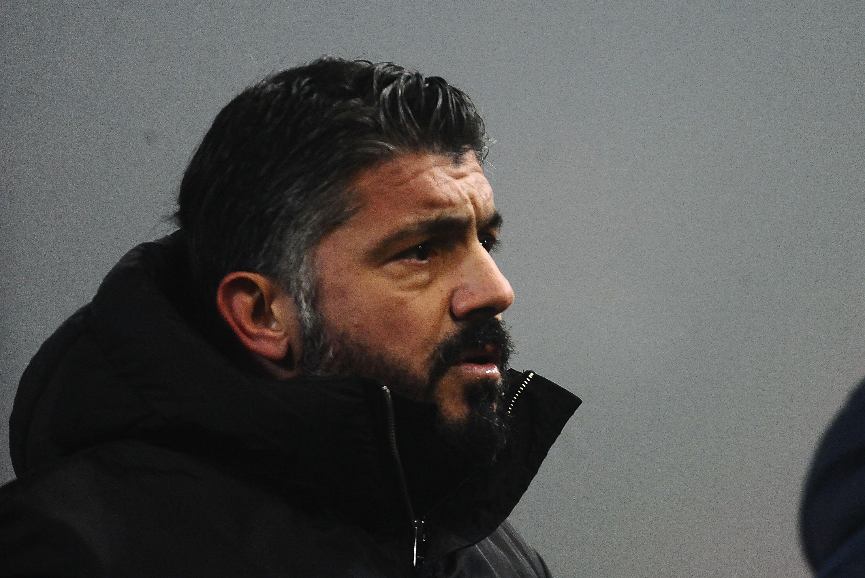Треньорът на Милан Дженаро Гатузо определи като посредствено представянето на