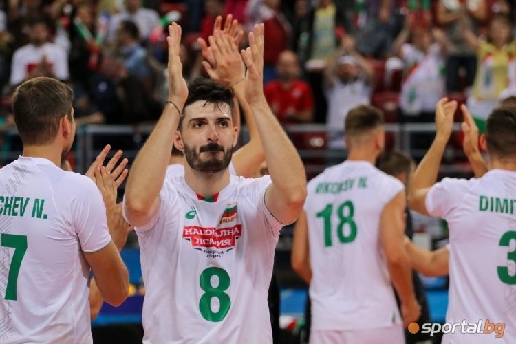 Волейболният национал Тодор Скримов беше отличен с наградата