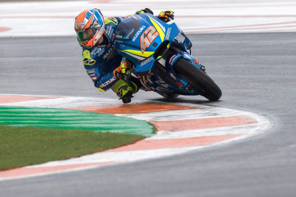 Пилотът на Suzuki в MotoGP Алекс Ринс не се притеснява,