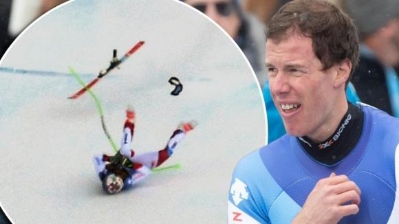 Швейцарският скиор алпиец Марк Гизин разказа за тежките мигове след