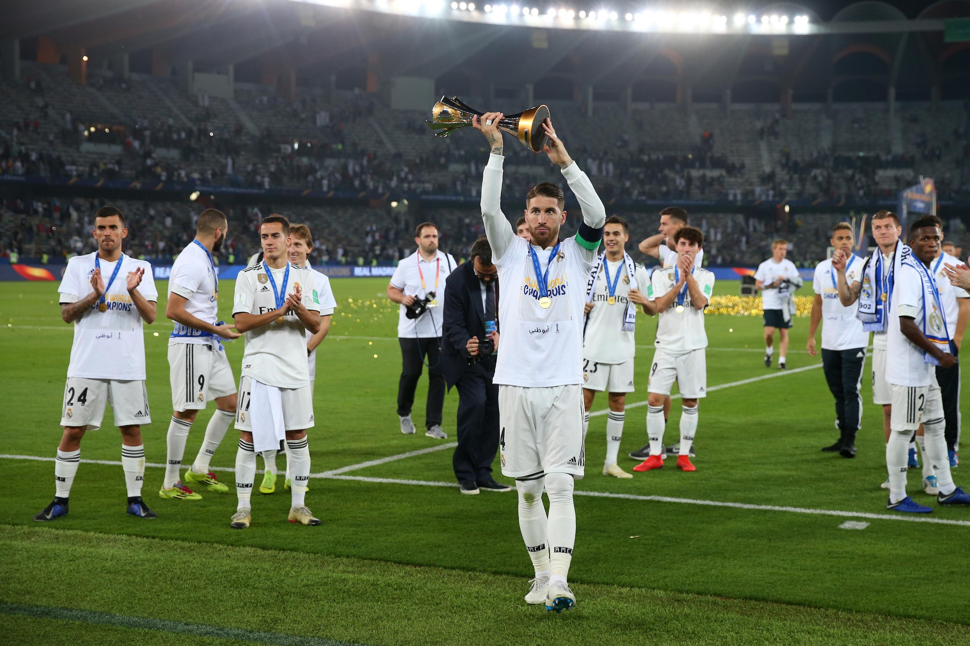 Световният клубен първенец Реал Мадрид ще бъде уважен с шпалир