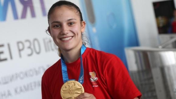 Световната медалистка в каратето и носителката на титла от Европейските