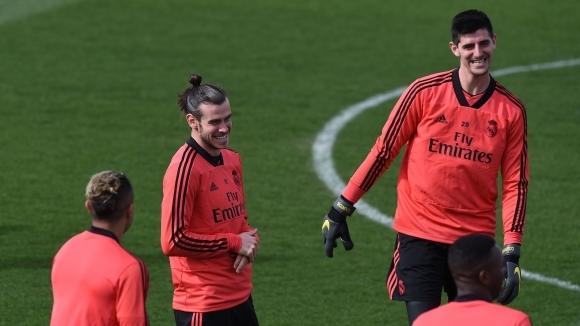 Титулярният вратар на Реал Мадрид Тибо Куртоа отправи интересно предизвикателство