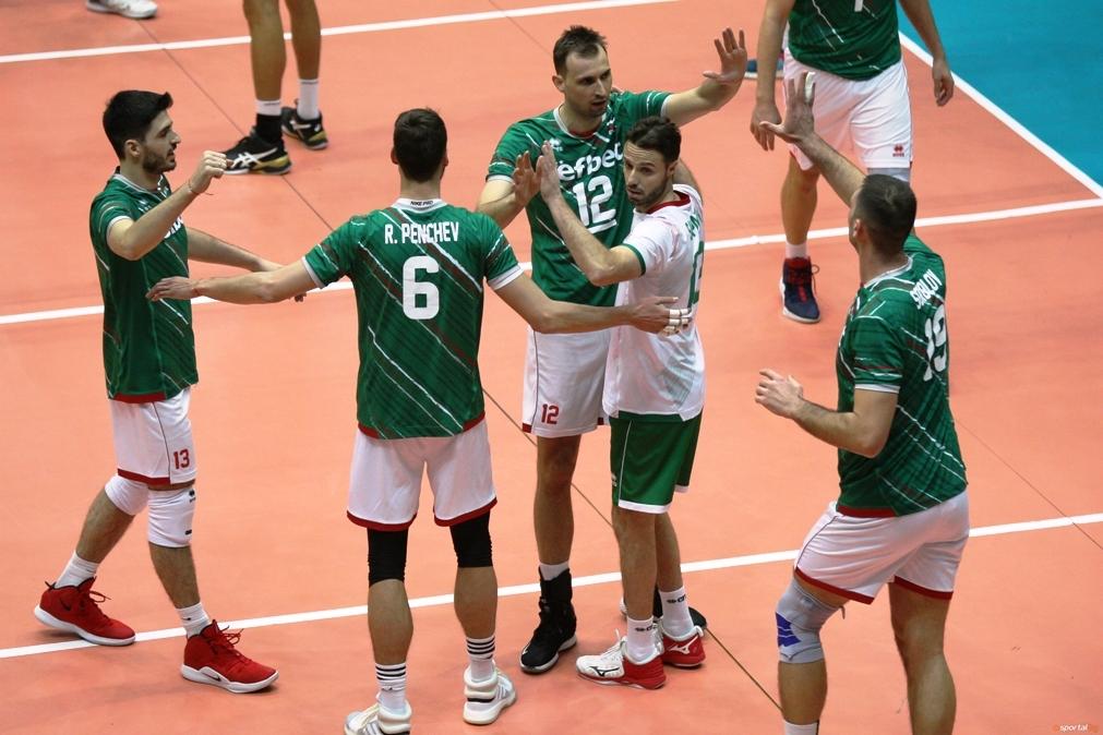 Волейболистите от националния отбор на България спечелиха първата от двете