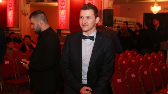 Халфът на Ботев (Пловдив) Тодор Неделев спечели приза за Футболист