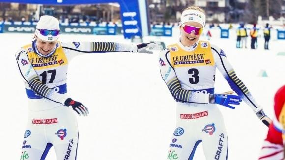 8cdfd0e1679 Шведката Стина Нилсон спечели спринта в ски-бягането при жените на - Новини  24/7