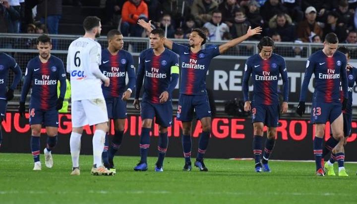 Отборът на Пари Сен Жермен постигна 16-а победа от началото