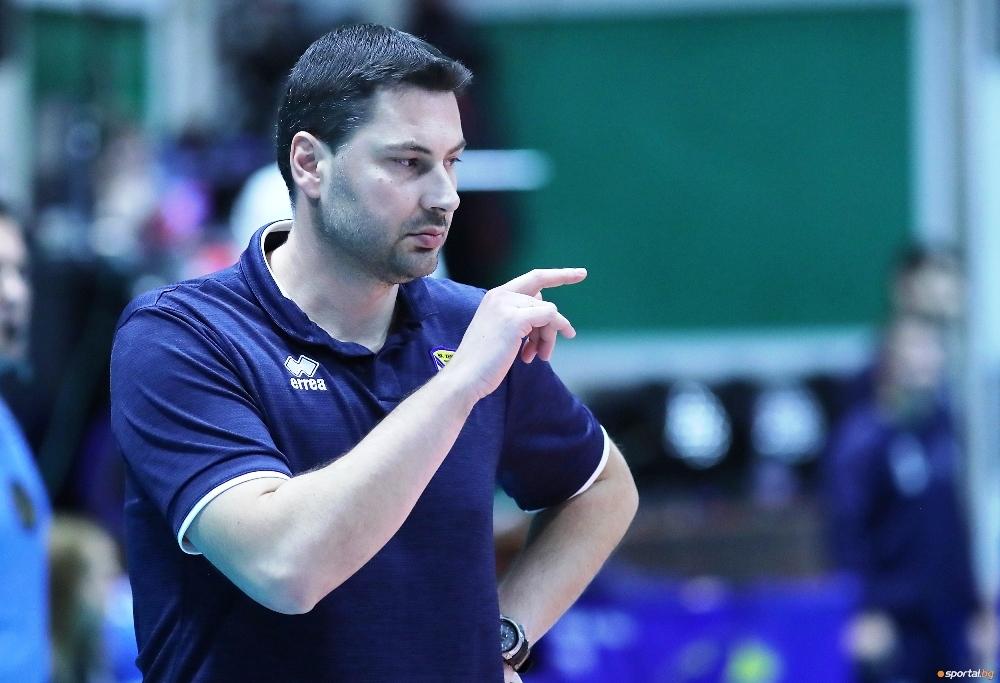 Треньорът на волейболния Хебър (Пазарджик) Атанас Петров коментира победата над