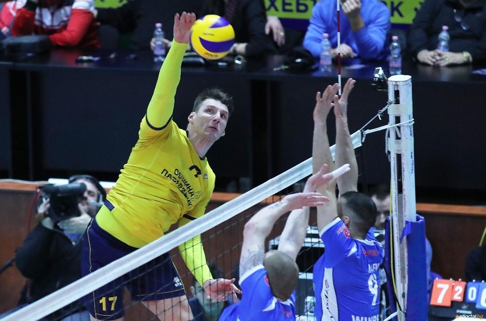 Македонският национал Александър Ляфтов изигра изключително силен мач за Хебър