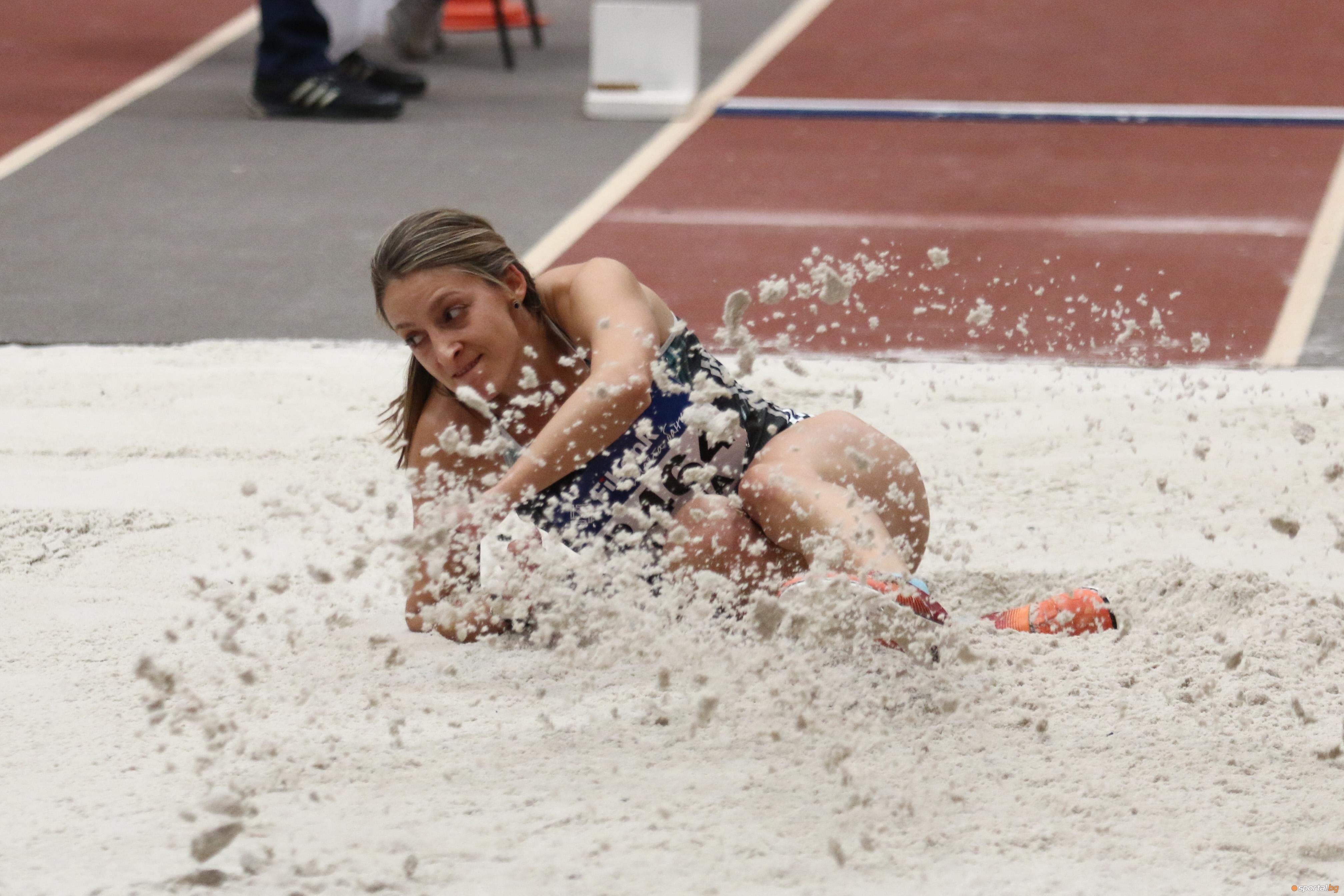 Милена Миткова и Даниел Анков триумфираха в скока на дължина