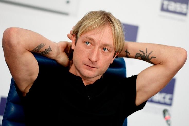 Легендата във фигурното пързаляне Евгений Плюшченко е бил приет в