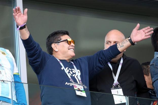 Аржентинската футболна легенда Диего Марадона е претърпял стомашна операция. 58-годишният
