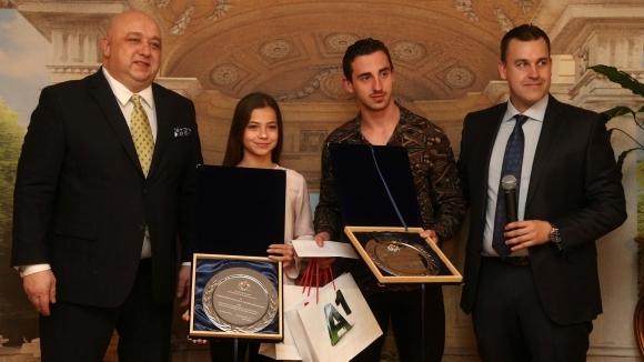 Министърът на младежта и спорта Красен Кралев награди призовата тройка