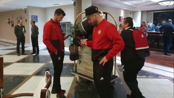 ЦСКА-София пристигна в Марбейя, където ще протече подготвителният лагер на