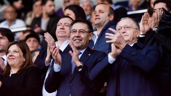 Президентът на Барселона - Джосеп Мария Бартомеу, е уверен, че