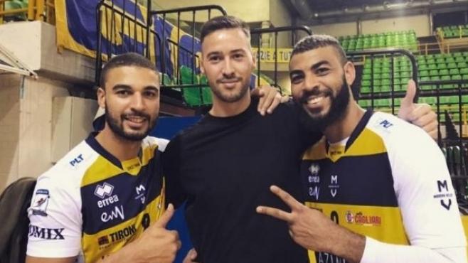 Бившият волейболист на италианския гранд Модена българинът Чоно Пенчев вече