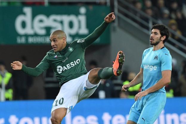 Сент Етиен спечели с 2:1 дербито с Олимпик Марсииля. Двата