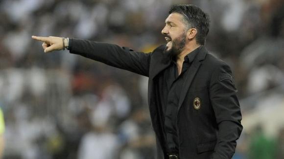Треньорът на Милан Дженаро Гатузо прие философски загубата с 0:1