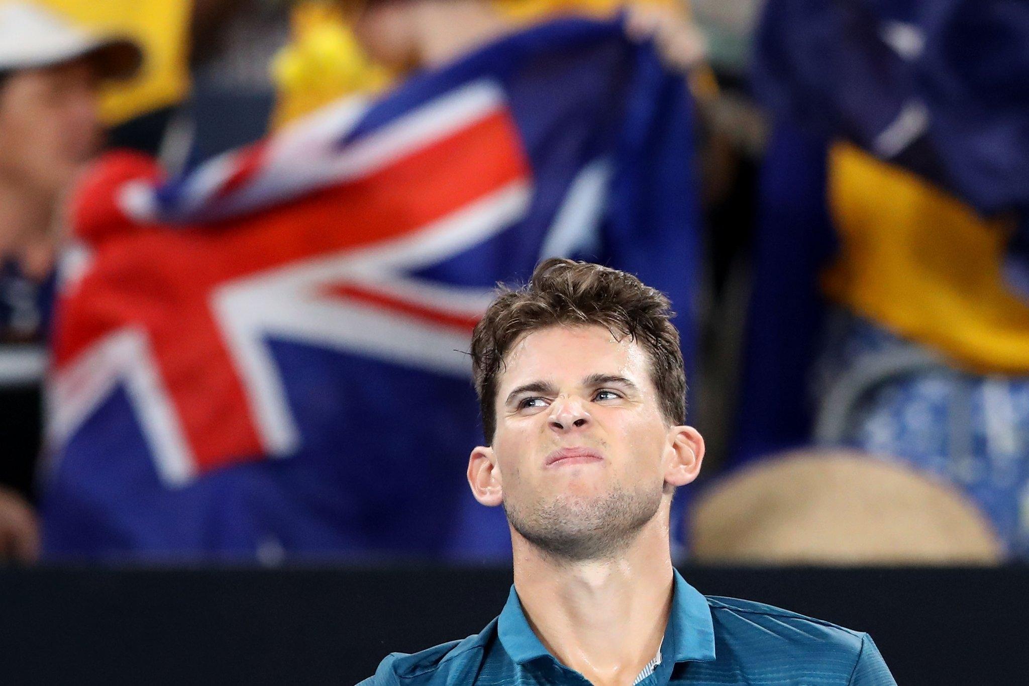 Поставеният под №7 Доминик Тийм отпадна от Australian Open. Австриецът