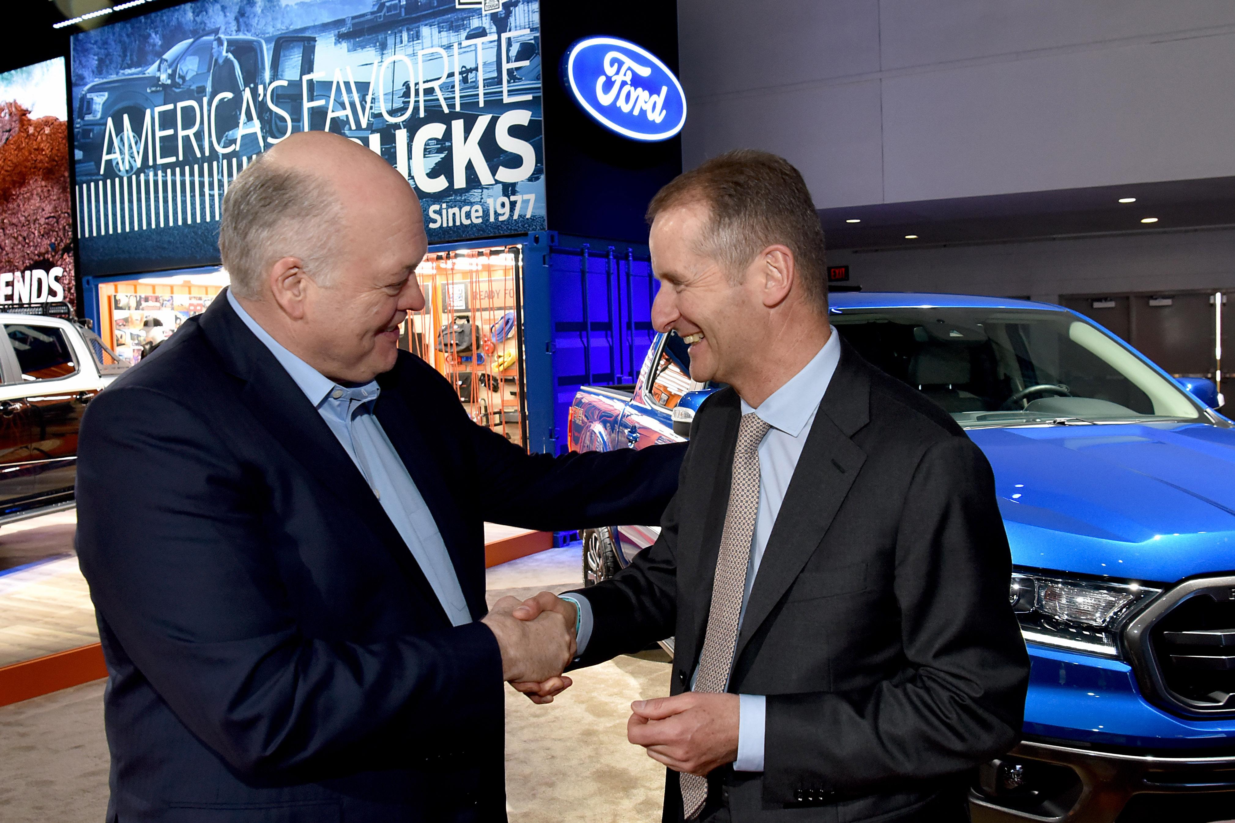 Volkswagen AG и Ford Motor Company обявиха първото официално споразумение