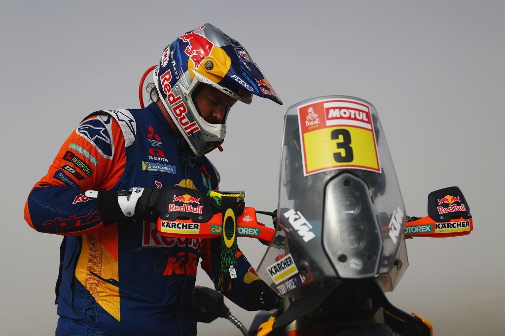 Първият австралийски победител на рали Дакар – Тоби Прайс (КТМ)