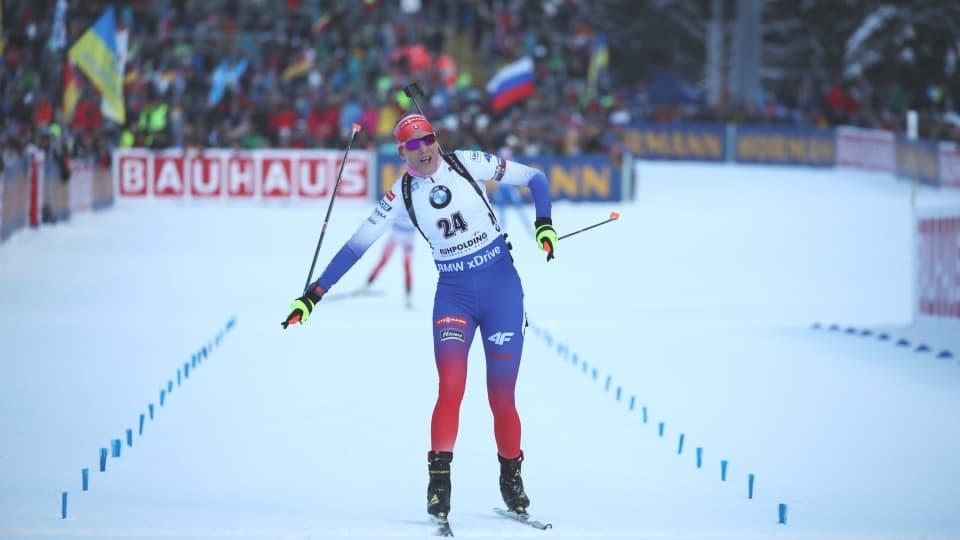 Трикратната олимпийска шампионка Анастасия Кузмина (Словакия) спечели спринта на 7.5