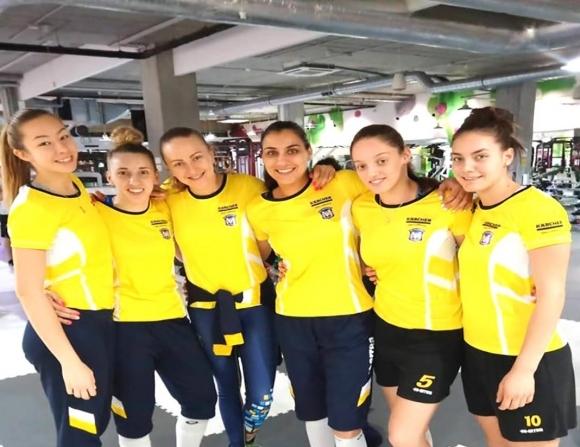 Марица (Пловдив) загуби втората контрола срещу шампиона на Румъния и