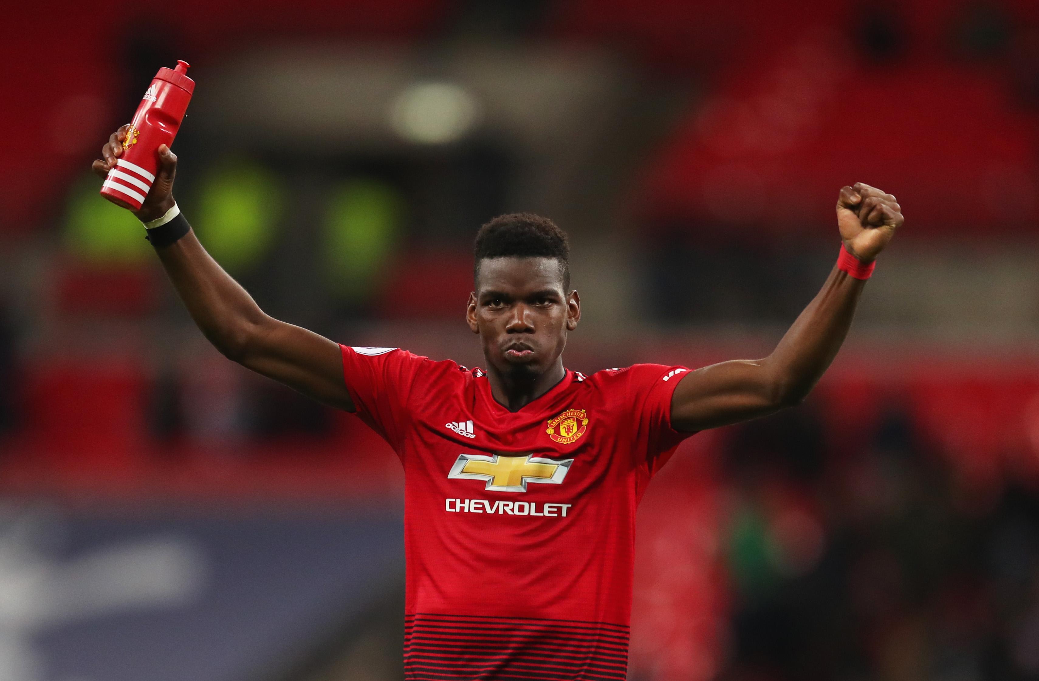 Полузащитникът на Манчестър Юнайтед Пол Погба похвали новия мениджър Оле