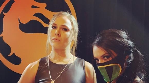 Снимка: Ронда Раузи ще участва в Mortal Kombat 11