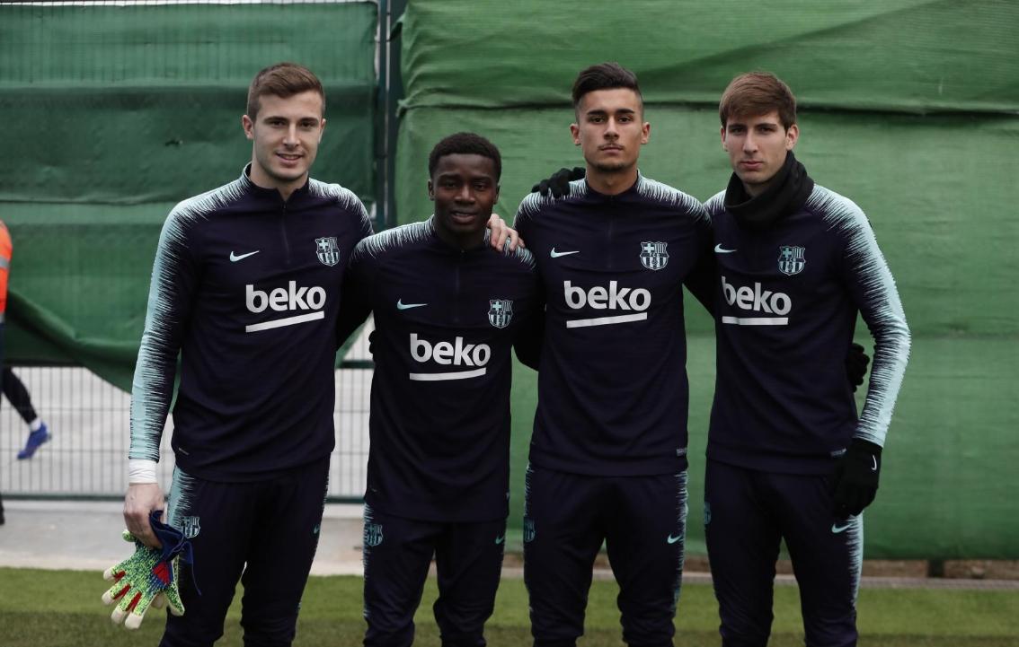 В лагера на Барселона са щастливи, след като поне на