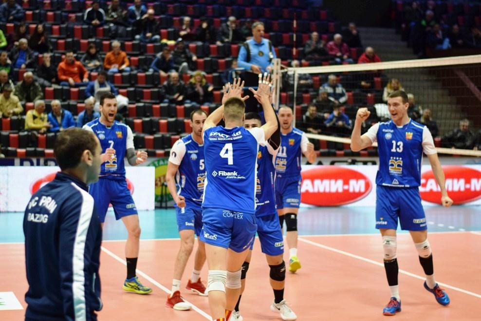 Мъжкият волейболен отбор на Пирин (Разлог) спечели второто за сезона
