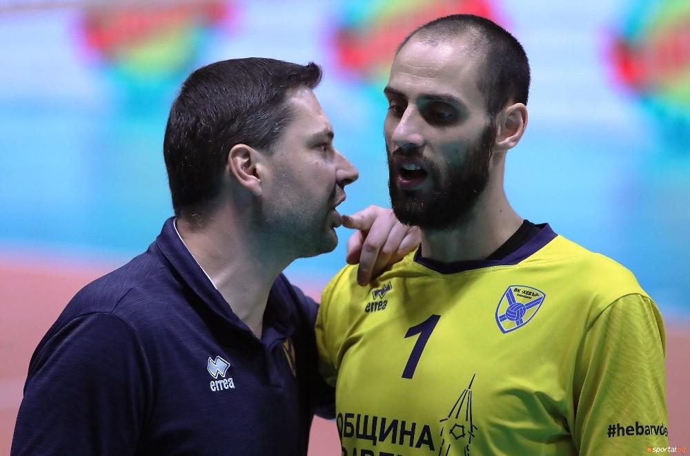 Волейболистът на Хебър (Пазарджик) Стойко Ненчев имаше голям принос за