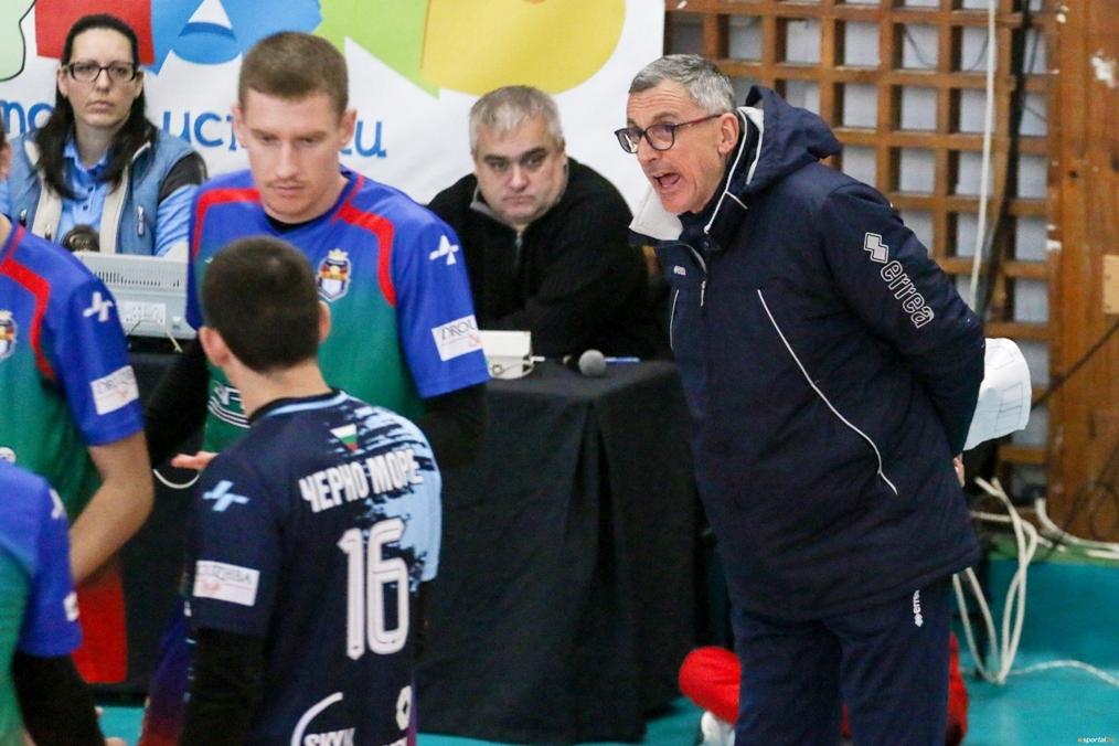 Волейболистите на Черно море (Варна) отстъпиха при гостуването си на
