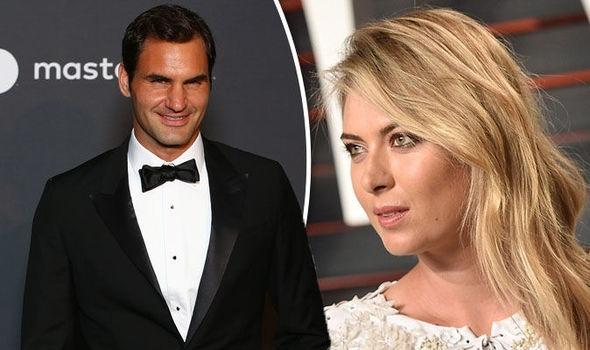 Конфузни моменти с Роджър Федерер и Мария Шарапова бяха уловени