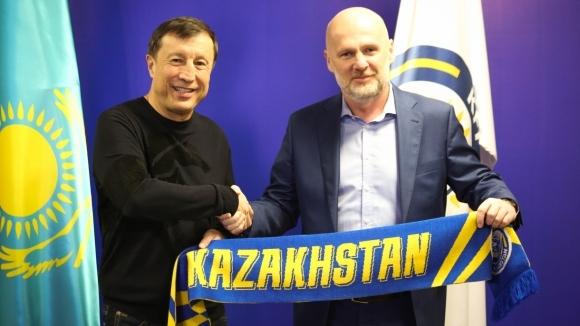 Казахстан назначи чешкия специалист Михал Билек за селекционер на националния