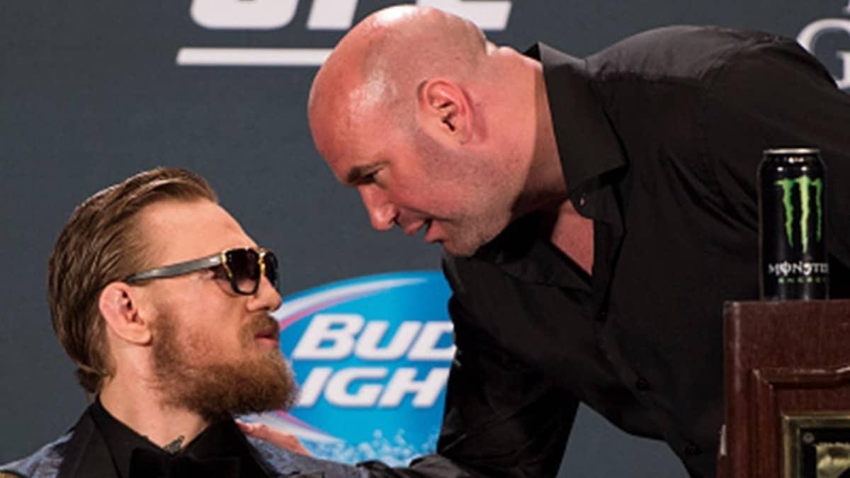 Шефът на UFC Дейна Уайт не успя да скрие своята
