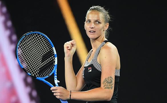 Поставената под номер 7 Каролина Плишкова (Чехия) се класира за