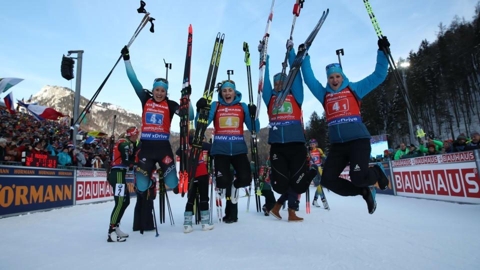 Франция спечели щафетата на 4 по 6 км за жени