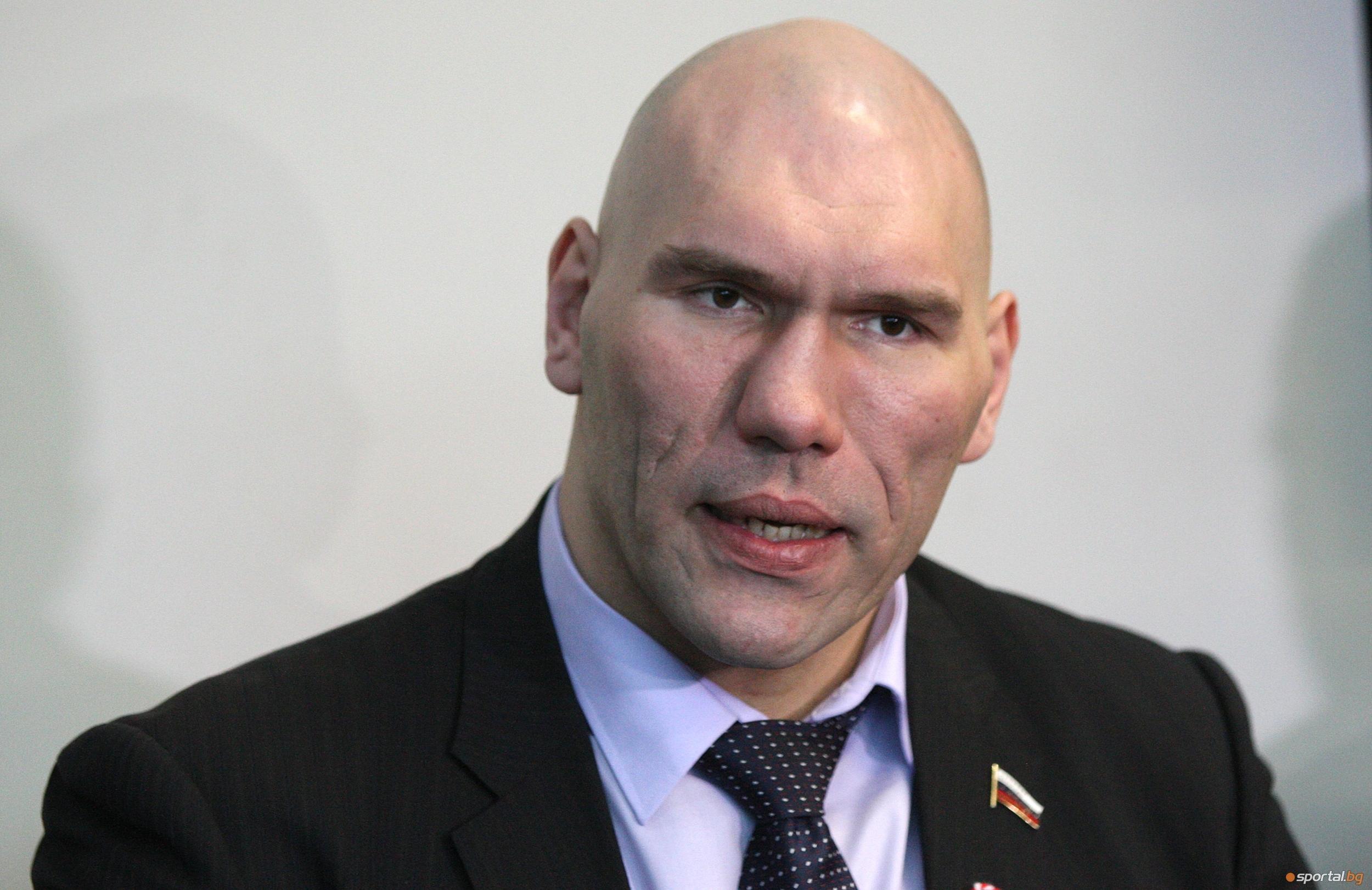 Бившият шампион в тежката категория Николай Валуев беше заподозрян в