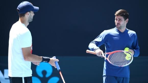 00160e60190 Не пускат треньора на Григор на корта - Тенис - Sportal.bg