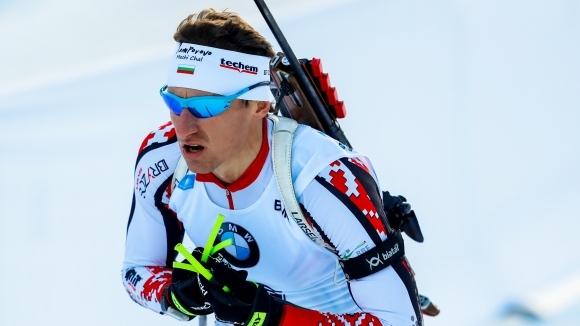 Лидерът в генералното класиране на сезона Йоханес Тингес Бьо (Норвегия)