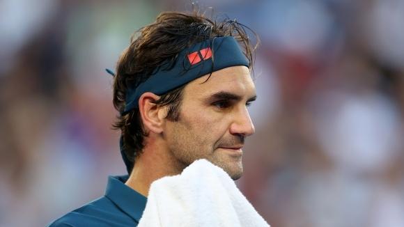Шесткратният шампион Роджър Федерер (Швейцария) призна, че е отпаднал заслужено