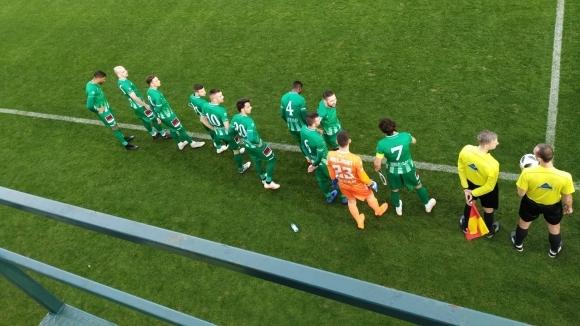 Отборите на Берое и Астра (Гюргево) играят при резултат 0:0