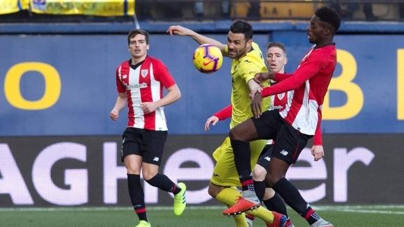 Отборите на Виляреал и Атлетик Билбао направиха 1:1 в мач