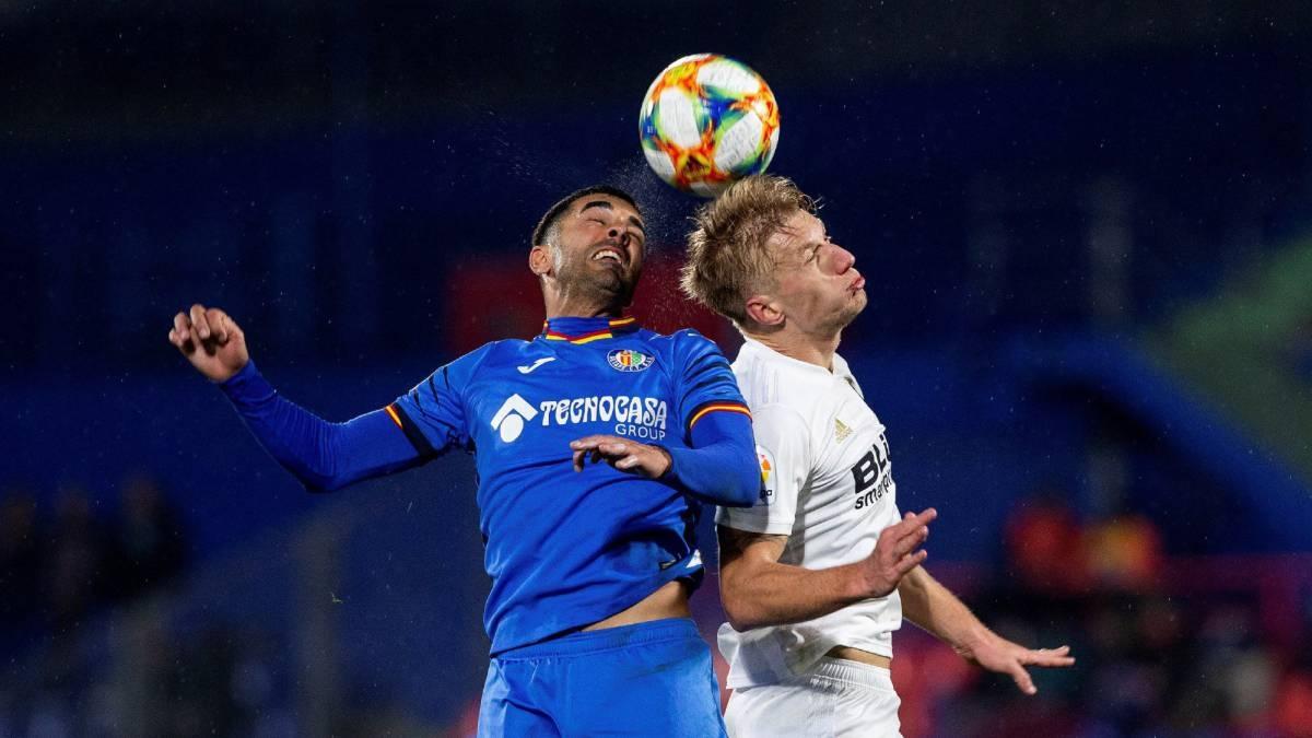 Отборът на Хетафе взе минимален аванс срещу Валенсия в първия