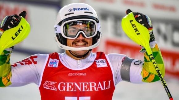 Българинът Алберт Попов завърши втори в алпийския слалом на ФИС