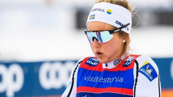 Олимпийската шампионка в спринта класически стил Стина Нилсон от Швеция